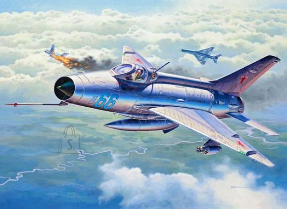 Revell mudellennuk MiG-21 F.13 Fishbed C 1:72
