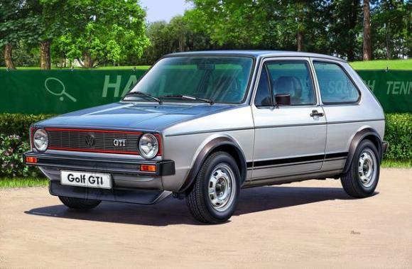 Revell mudelauto VW Golf 1 GTI 1:24