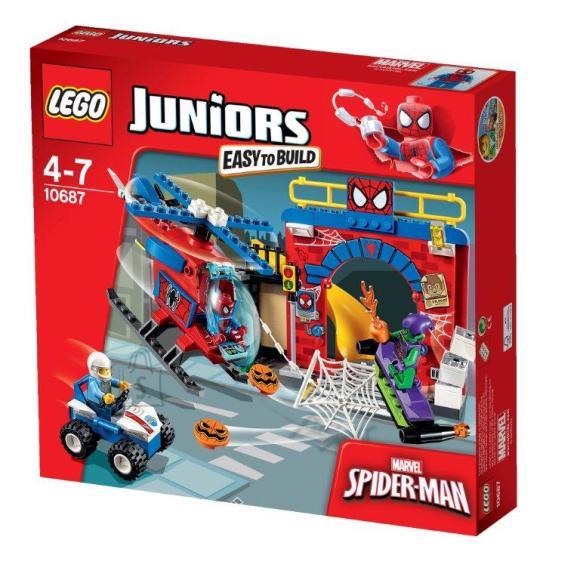 LEGO Junior Ämblikmehe peidupaik
