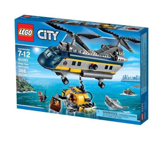 LEGO City Süvamere helikopter
