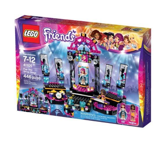 LEGO Friends Popstaari lava