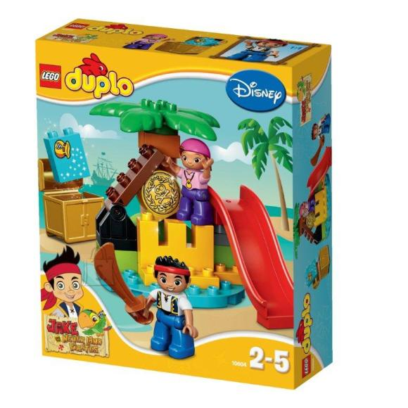 LEGO Duplo Jake ja Never Landi piraatide aarete saar