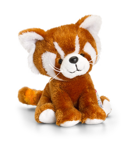Keel Toys mänguloom punane panda Pippins 14 cm