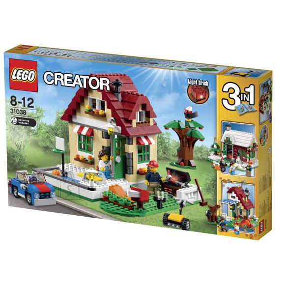 LEGO Creator Muutuvad aastaajad
