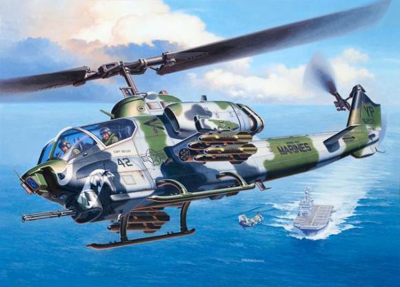 Revell mudelhelikopter Bell AH-1W SuperCobra 1:48
