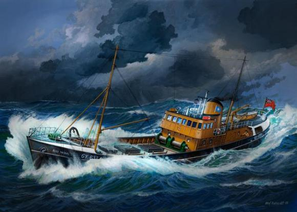Revell mudellaev North Sea Trawler 1:142