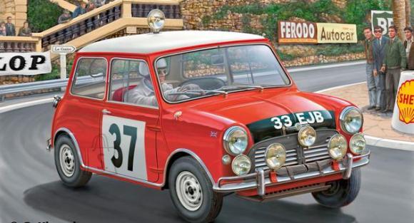 Revell mudelauto Mini Cooper Winner Rally Monte Carlo 1964 1:24