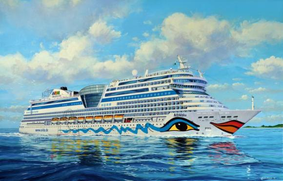 Revell mudellaev Cruiser Ship AIDAblu, AIDAsol, AIDAmar, AIDAstella 1:400