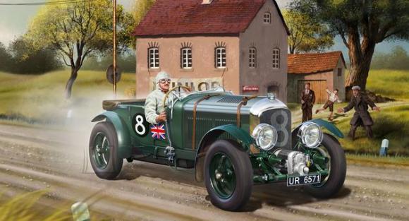 Revell mudelauto Bentley 4,5L Blower 1:24