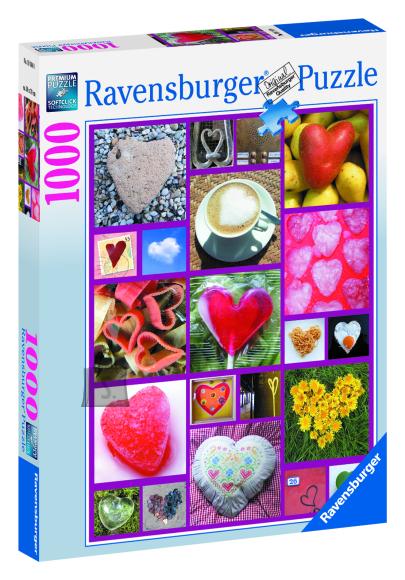 Ravensburger pusle Südamed 1000 tk