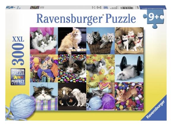 Ravensburger pusle Kassipojad 300 tk