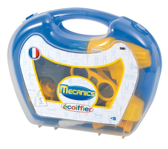 Ecoiffier Mecanics tööriistad kohvris 18-osaline