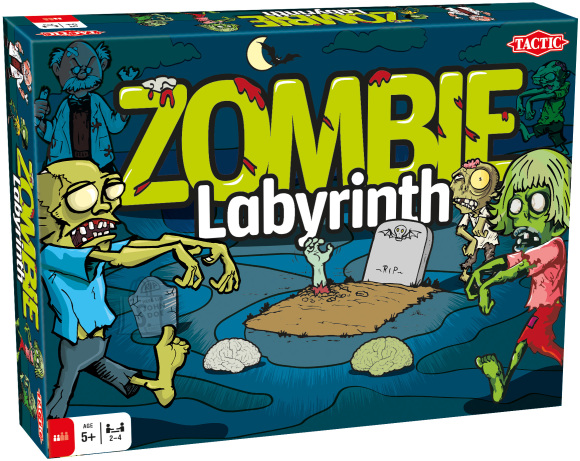 Tactic lauamäng Zombie Labürint