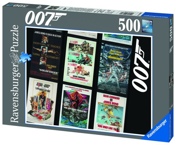 Ravensburger Ravensburger puzzle 500 tk. James Bond 007