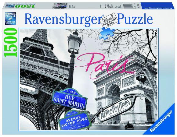 Ravensburger Ravensburger puzzle 1500 tk. Pariis