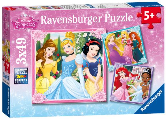 Ravensburger Ravensburger puzzle 3*49 tk Princess