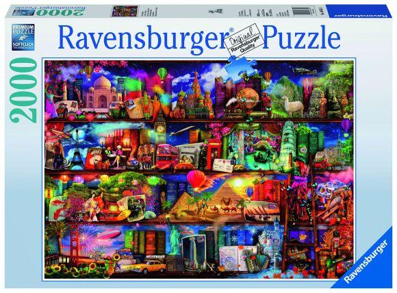 Ravensburger Ravensburger puzzle 2000 tk. Raamatute maailm