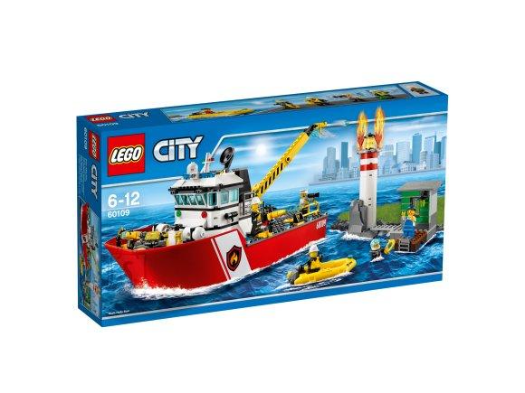 LEGO City Tuletõrjepaat