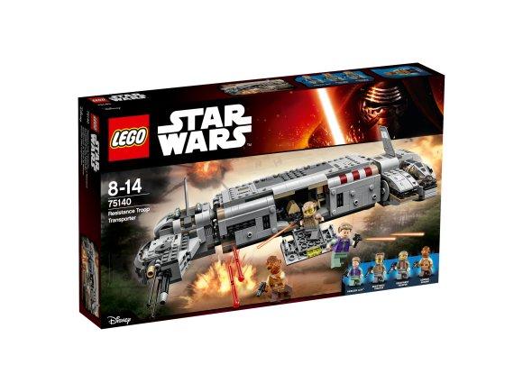 LEGO Star Wars Vastupanujõudude transpordilennuki vastasseis
