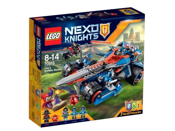 LEGO Nexo Knights Clay kõminatera
