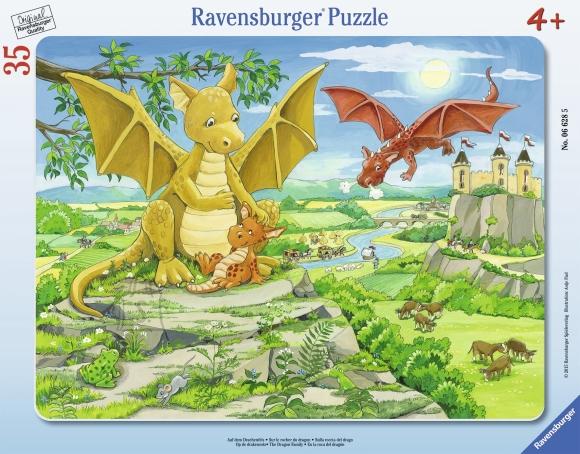 Ravensburger plaatpusle Draakonite perekond 35 tk