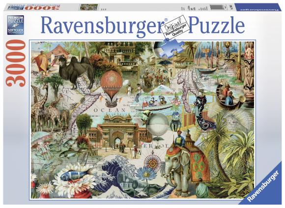 Ravensburger pusle Okeaania 3000 tk