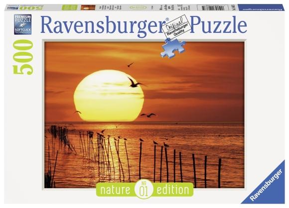 Ravensburger pusle Maagiline päikeseloojang 500 tk
