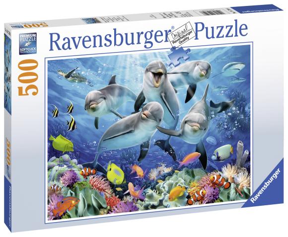 Ravensburger pusle Delfiinid 500 tk