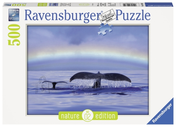 Ravensburger pusle Sinine horisont 500 tk
