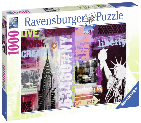 Ravensburger pusle New York 1000 tk