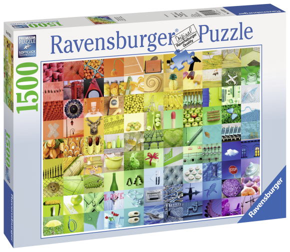 Ravensburger pusle 99 kaunist värvi 1500 tk