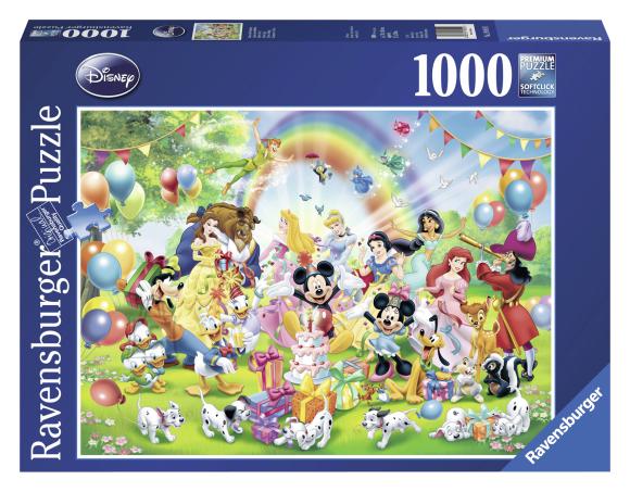 Ravensburger pusel Mickey sünnipäev 1000 tk