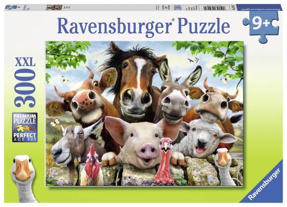 Ravensburger pusle Farmiloomade selfie 300 tk