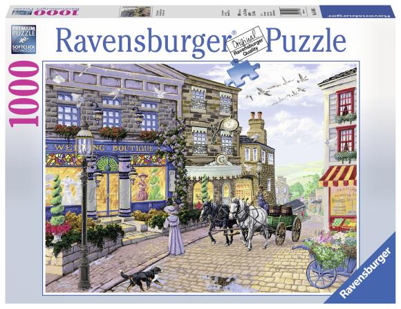 Ravensburger pusle Pruutpaaride salong 1000 tk