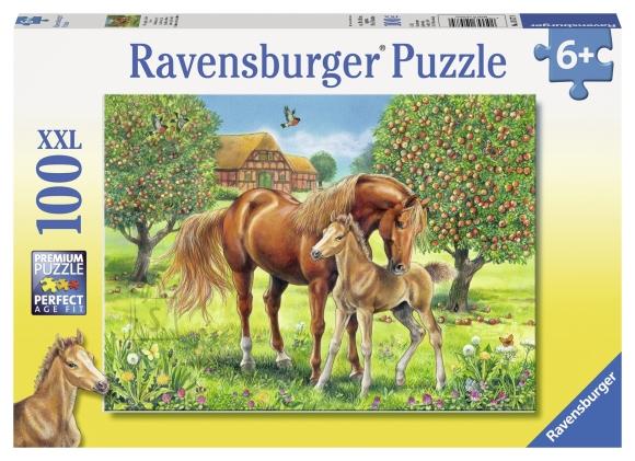 Ravensburger pusle XXL Hobused 100 tk