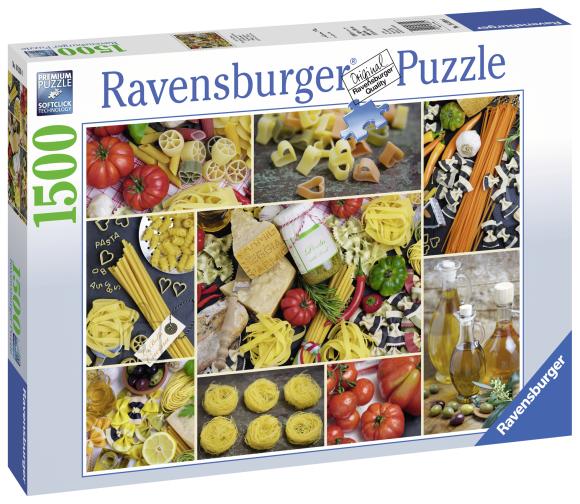 Ravensburger pusle Pastad 1500 tk