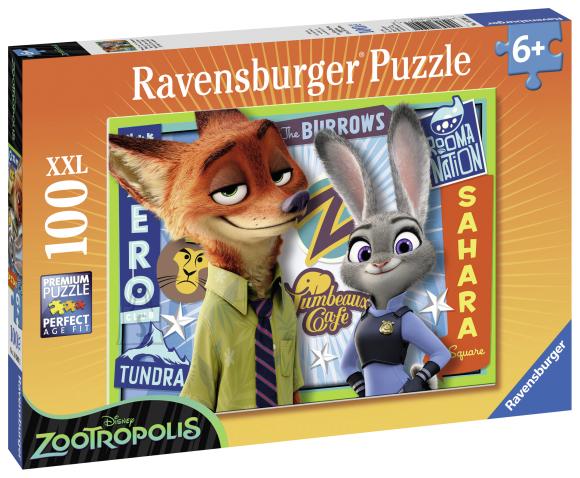 Ravensburger pusle XXL Disney 100 tk