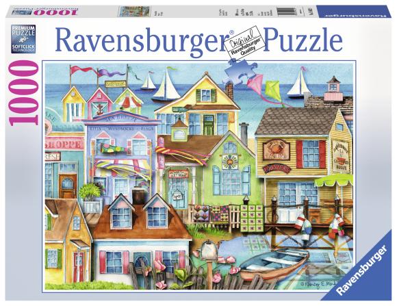 Ravensburger pusle Linnakai 1000 tk