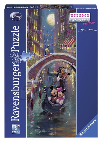 Ravensburger panoraampusle Disney Veneetsia Romantika 1000 tk