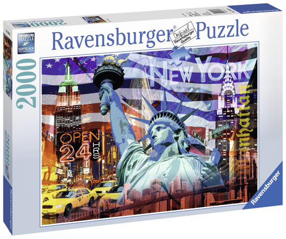 Ravensburger pusle New York 2000 tk