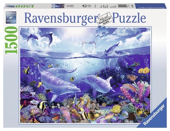 Ravensburger pusle Delfiinid 1500 tk