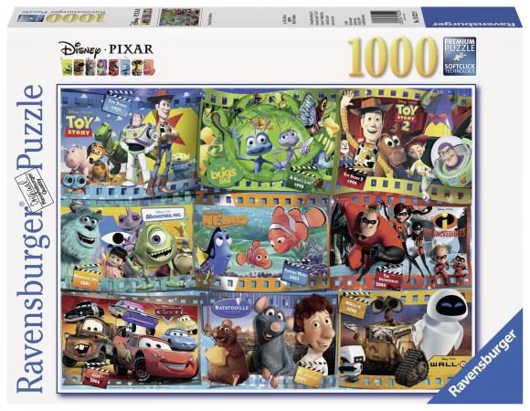 Ravensburger pusle Disney Pixar filmid 1000 tk