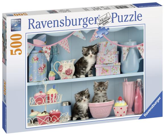 Ravensburger pusle Kiisud ja koogid 500 tk