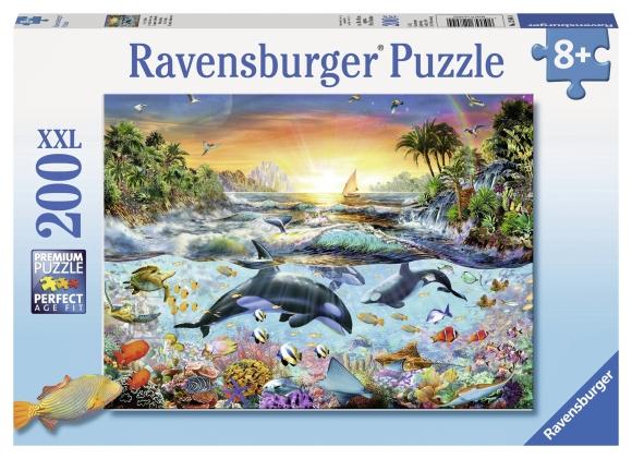 Ravensburger pusle Delfiinid 200 tk
