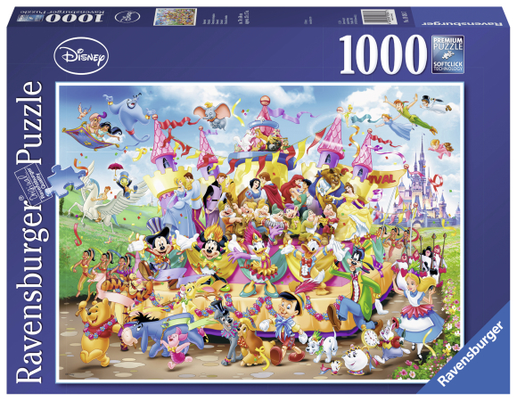 Ravensburger pusle Disney karneval 1000 tk