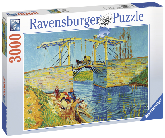 Ravensburger pusle Van Gogh: Langloi sild 3000 tk