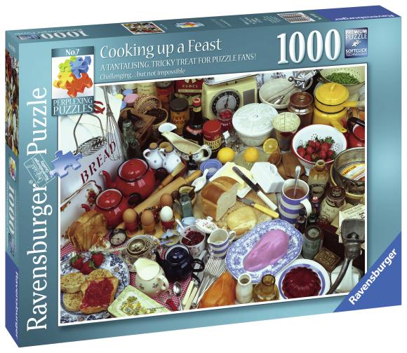 Ravensburger pusle Toiduained 1000 tk