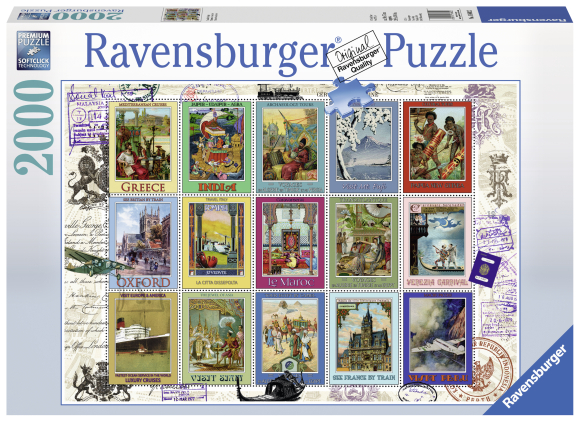 Ravensburger pusle Postmargid 2000 tk