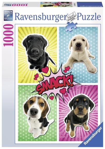 Ravensburger pusle Popkunsti koer 1000 tk