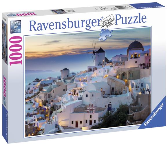 Ravensburger pusle Õhtu Santorinis 1000 tk